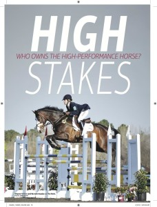 Sharon Featured in Sport Horse Magazine