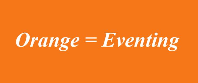 Orange=Eventing