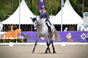 Sharon and Louie at the Luhmuhlen 4* PC: Eventing Nation